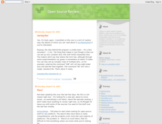 opensourcereview.blogspot.nl screenshot