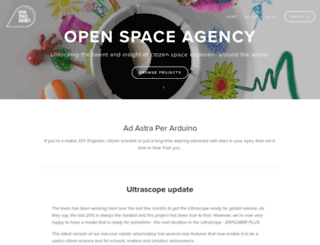 openspaceagency.com screenshot