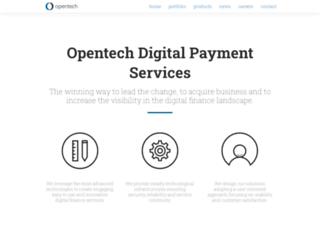 opentech.com screenshot