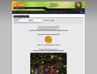 openttd.btpro.nl screenshot