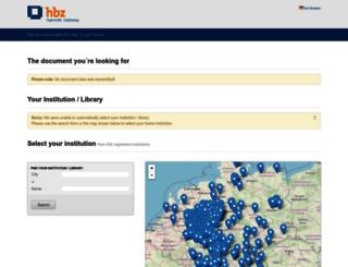 openurlgw.hbz-nrw.de screenshot