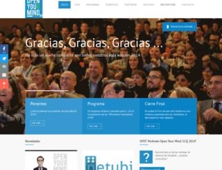 openyourmindscq.es screenshot