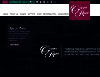 opera-rara.com screenshot