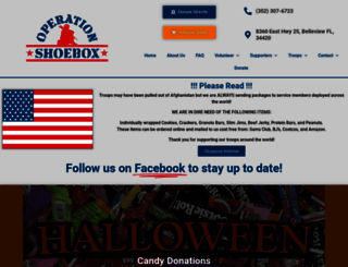 operationshoebox.com screenshot