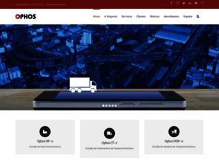 ophos.com.br screenshot