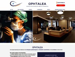 ophtalea.com screenshot
