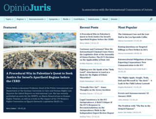 opiniojuris.org screenshot