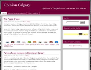 opinioncalgary.ca screenshot