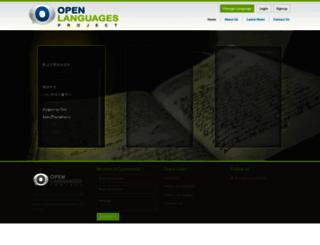 oplang.org screenshot