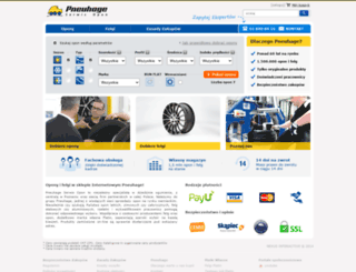 opony.net.pl screenshot