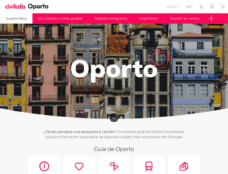 oporto.net screenshot
