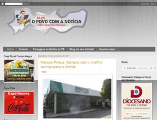 opovocomanoticia.blogspot.com.br screenshot