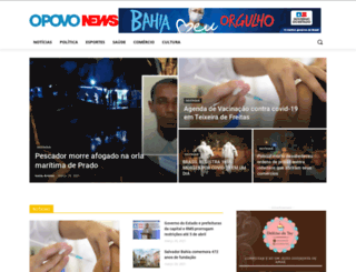 opovonews.com.br screenshot