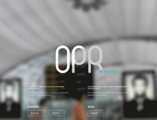 opr-media.com screenshot