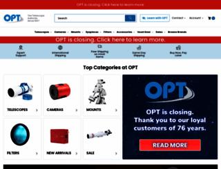 optcorp.com screenshot