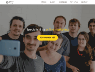 optimal-marketing.cz screenshot