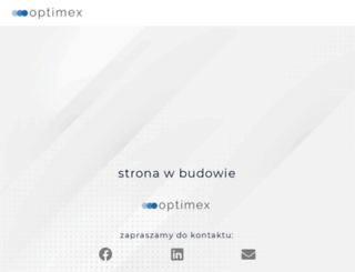optimex.pl screenshot
