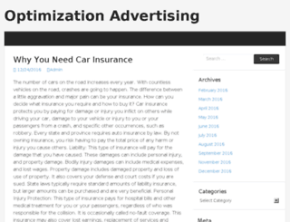 optimizationadvertising.com screenshot