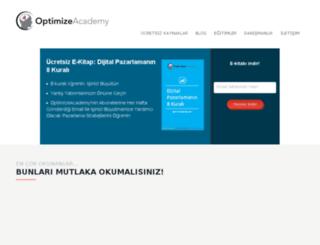 optimizeacademy.com screenshot