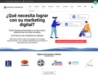 optimizedpanama.com screenshot