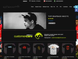 optimouse.com screenshot