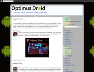 optimus-droid.blogspot.com screenshot