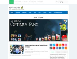 optimus-fans.blogspot.com.br screenshot