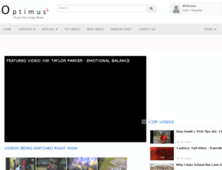 optimus5.tv screenshot