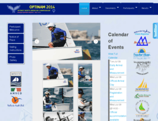 optinam2014.org screenshot