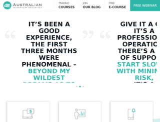 optionsmastery.com.au screenshot