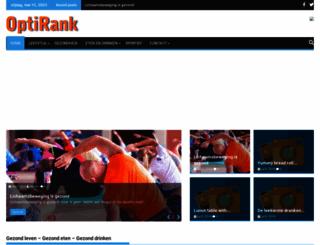 optirank.nl screenshot