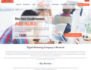 optiwebmarketing.com screenshot