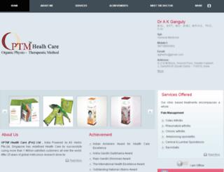 optmhealthcare.healthline24x7.com screenshot