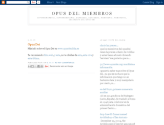 opusdei-miembros.blogspot.com screenshot