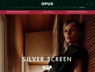 opusdesign.com.au screenshot