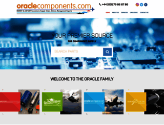 oraclecom.co.uk screenshot