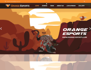 orange-esports.com screenshot