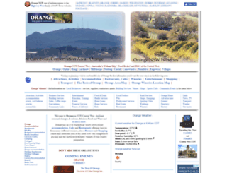 orange-nsw.com screenshot