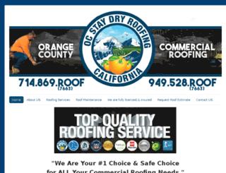 orangecountycommercialroofingcompany.com screenshot