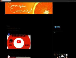 orangegrooves.blogspot.com screenshot