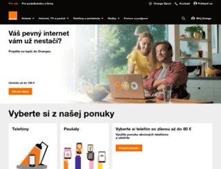 orangehokej.sk screenshot