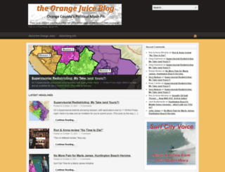 orangejuiceblog.com screenshot