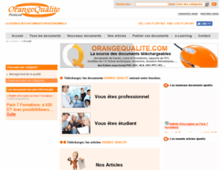 orangequalite.com screenshot