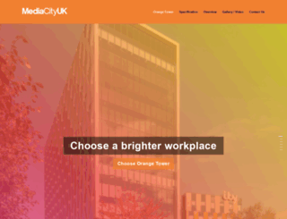 orangetower.mediacityuk.co.uk screenshot