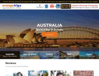 orangetrips.com screenshot