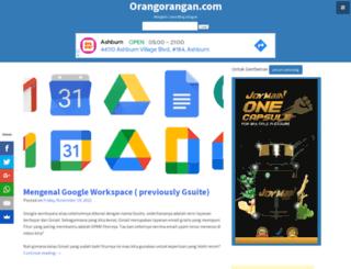 orangorangan.com screenshot