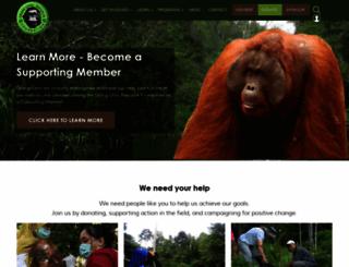 orangutanrepublik.org screenshot