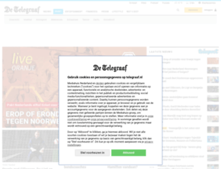 oranjepoule.nl screenshot