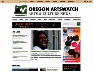orartswatch.org screenshot