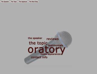 oratory.com screenshot
